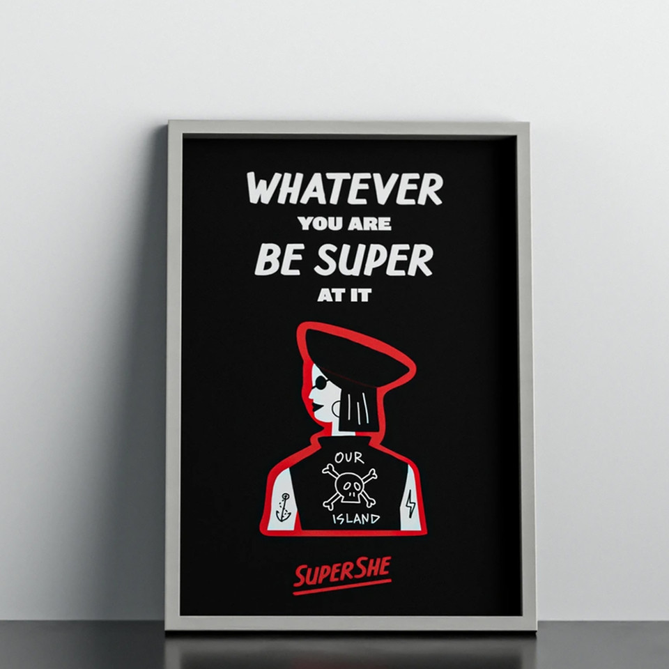 SuperShe Branding