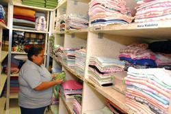Roupas limpas e higienizadas
