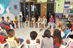 Jovens no Centro da Juventude