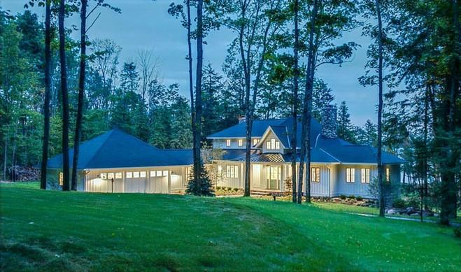 Lake Home Exterior