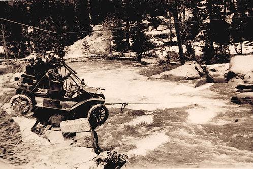 Yuba River at Donner Summit 1911