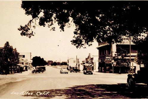 Los Altos circa 1925