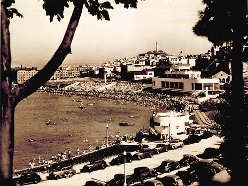 SF Aquatic Park circa 1945
