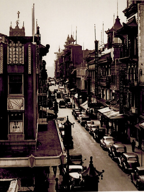 China Town on Grant circa 1940