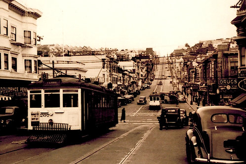 Castro Street at 18th 1945