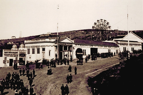 Entrance to Sutro baths 1896
