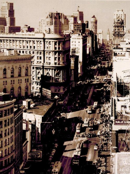 Market Street circa 1945