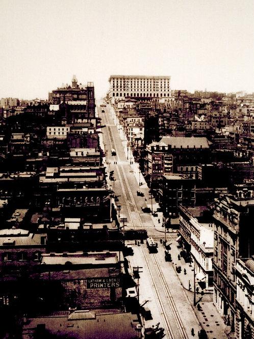 California Street circa 1900
