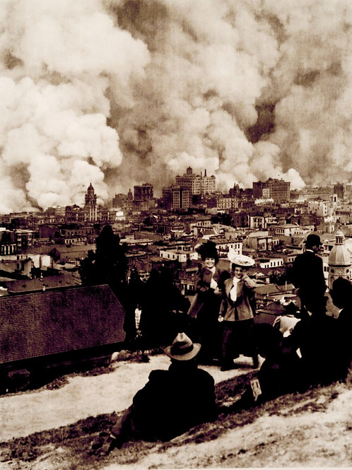 SF 1906 Earthquake and Fire