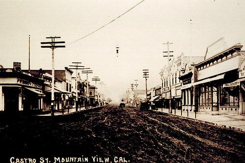 Castro Street, downtown Mountain View
