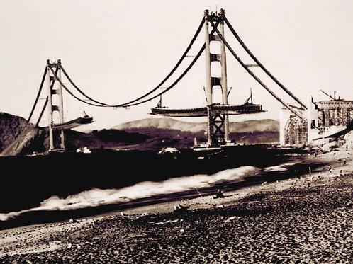 Golden Gate Bridge 1936