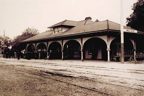 Palo Alto Railroad Station