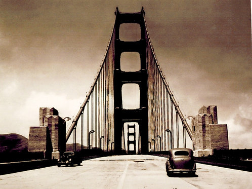 Golden Gate Bridge 1937