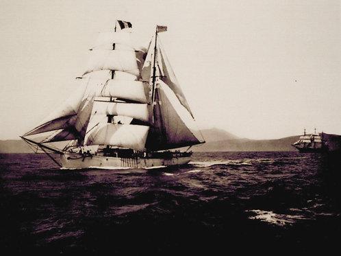 Brig Tahiti on San Francisco Bay