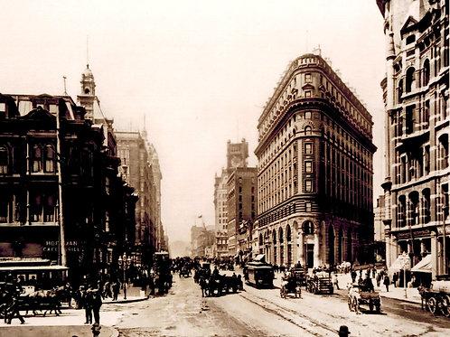 Market Street circa 1900