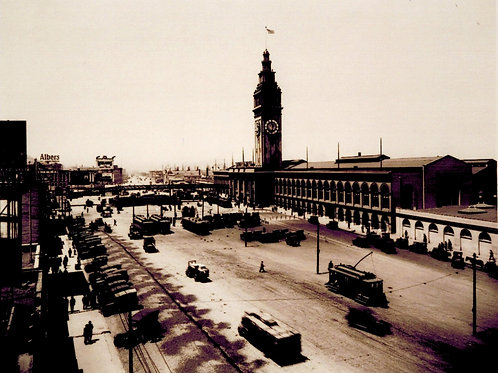 Ferry Building 1918