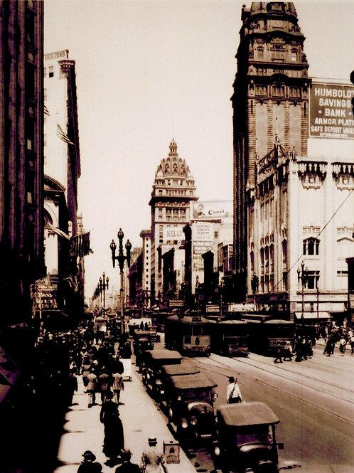 Market Street circa 1925