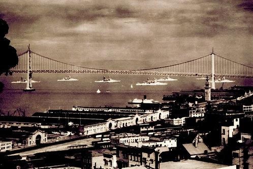 The Pacific Fleet on San Francisco Bay