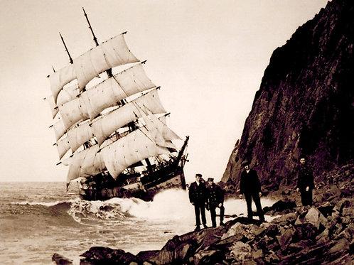 Wreck of the Glenesslin 1913