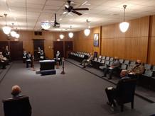 1st Lodge meeting Covid
