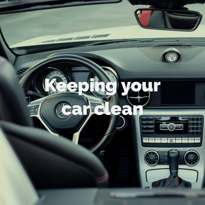 Keeping Your Car Clean and Organized