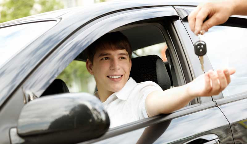 Handing the car keys over to your teen can be scary.