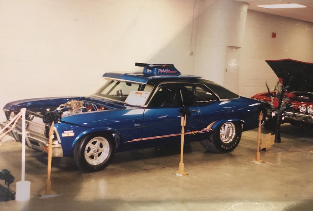 A 1970 Chevy NOVA Perks Auto restored and showed at car shows