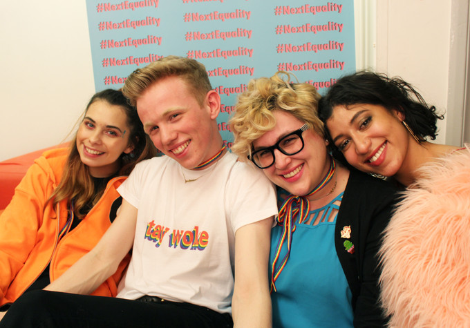 Help Harry Evans with his #NextEquality movement