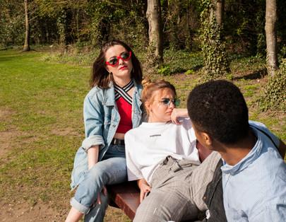 Models : Charlotte Butler  Holly Riley Cole Banton