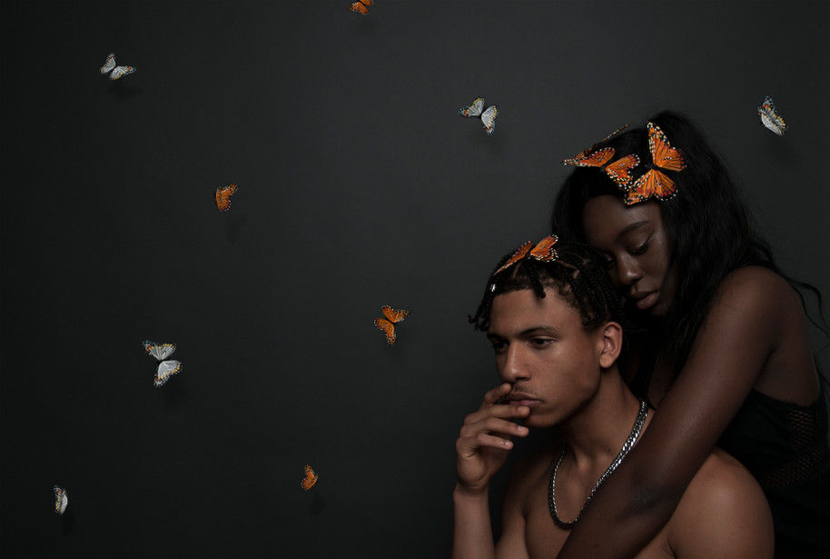 Models : Ravin Cooke-Houston, James Campbell