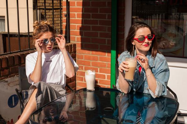 Models : Charlotte Butler  Holly Riley