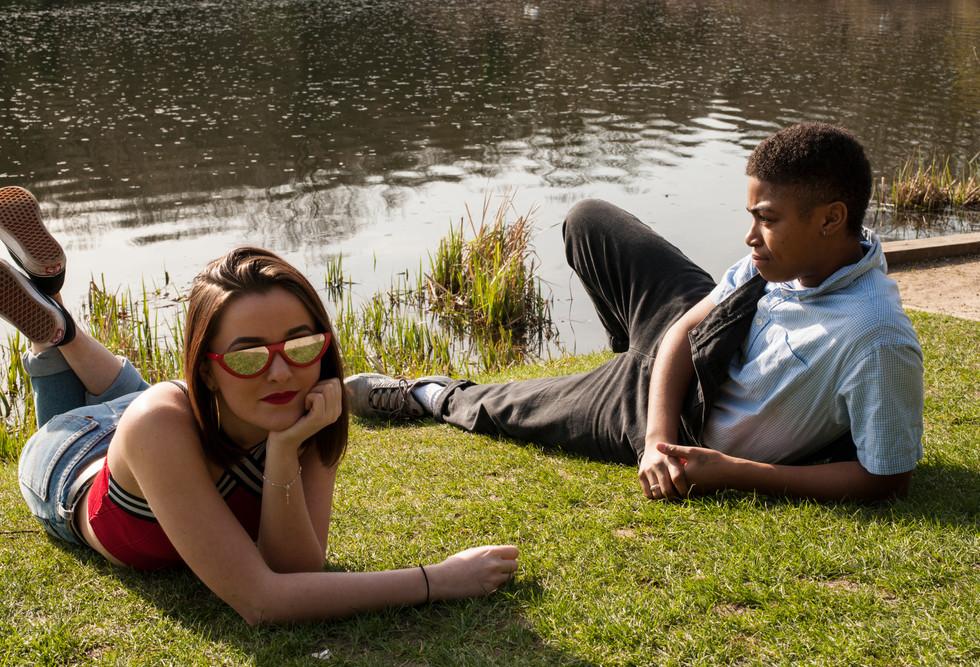Models : Holly Riley Cole Banton