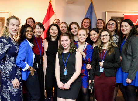 Young Canadian leaders attend the 63rd session of the UN Commission on the Status of Women (CSW63)
