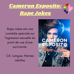 Cameron Esposito: Rape Jokes
