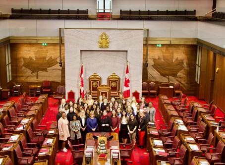The Senate brings 40+ Youth Leaders from New York to Ottawa for a Youth Forum