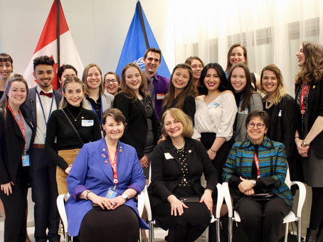 Feminist parliamentarians and young leaders report back on Week 1 of the annual conference of the UN