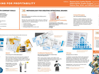 "cE Presents ""Branding and Profitability"" at 4C Poster Session"