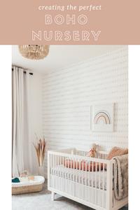 The perfect boho nursery.
