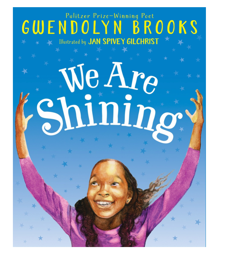 We are shining book.