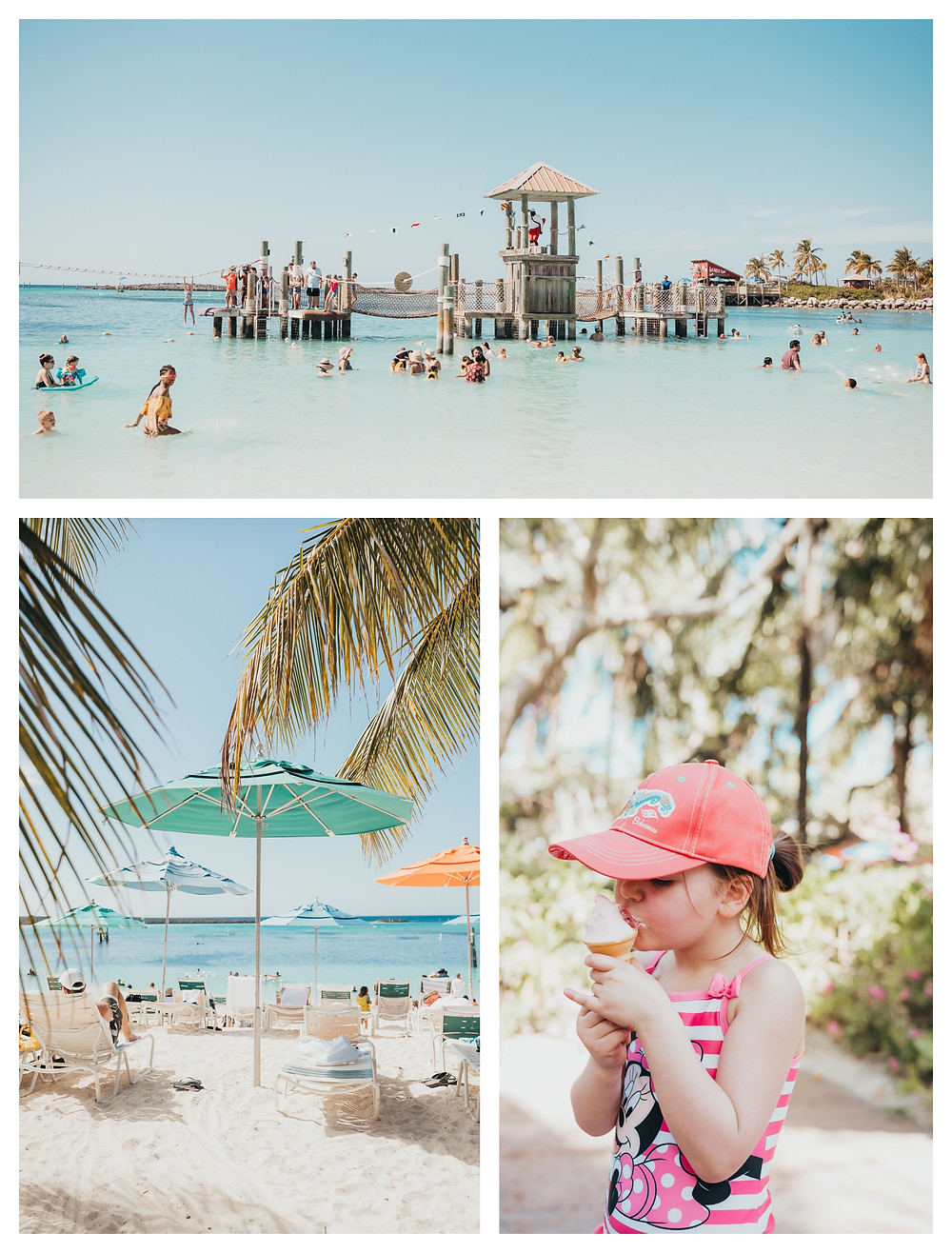 Photos of Disney's Castaway Cay island.