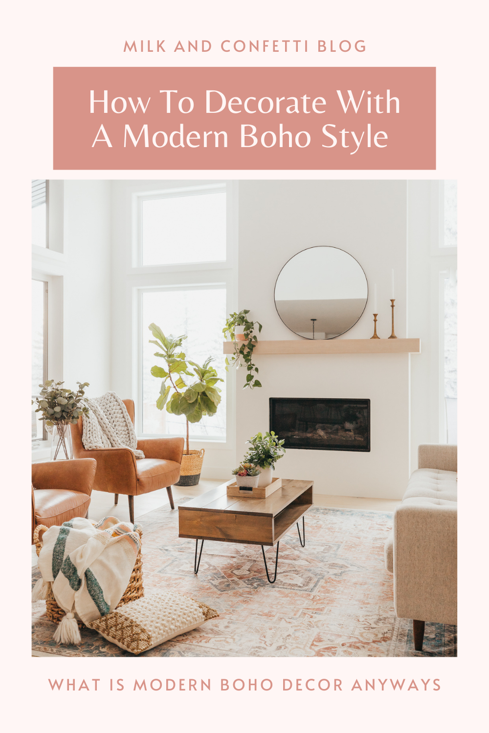 With a mixture of colors, textures, patterns and accessories we can achieve the comfortable, relaxing and sometimes whimsical boho decor and style in our modern homes.