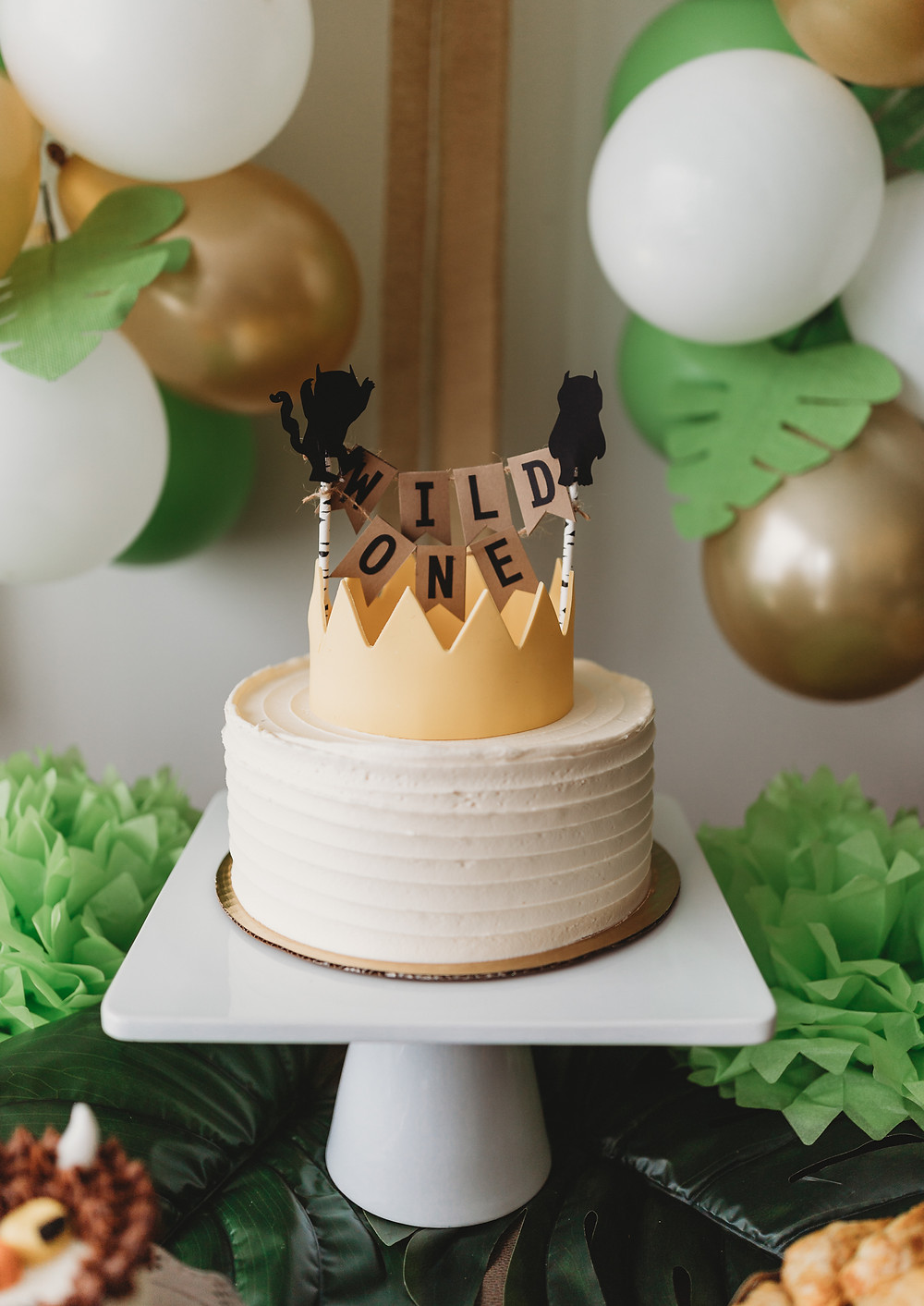 where the wild things are first birthday cake