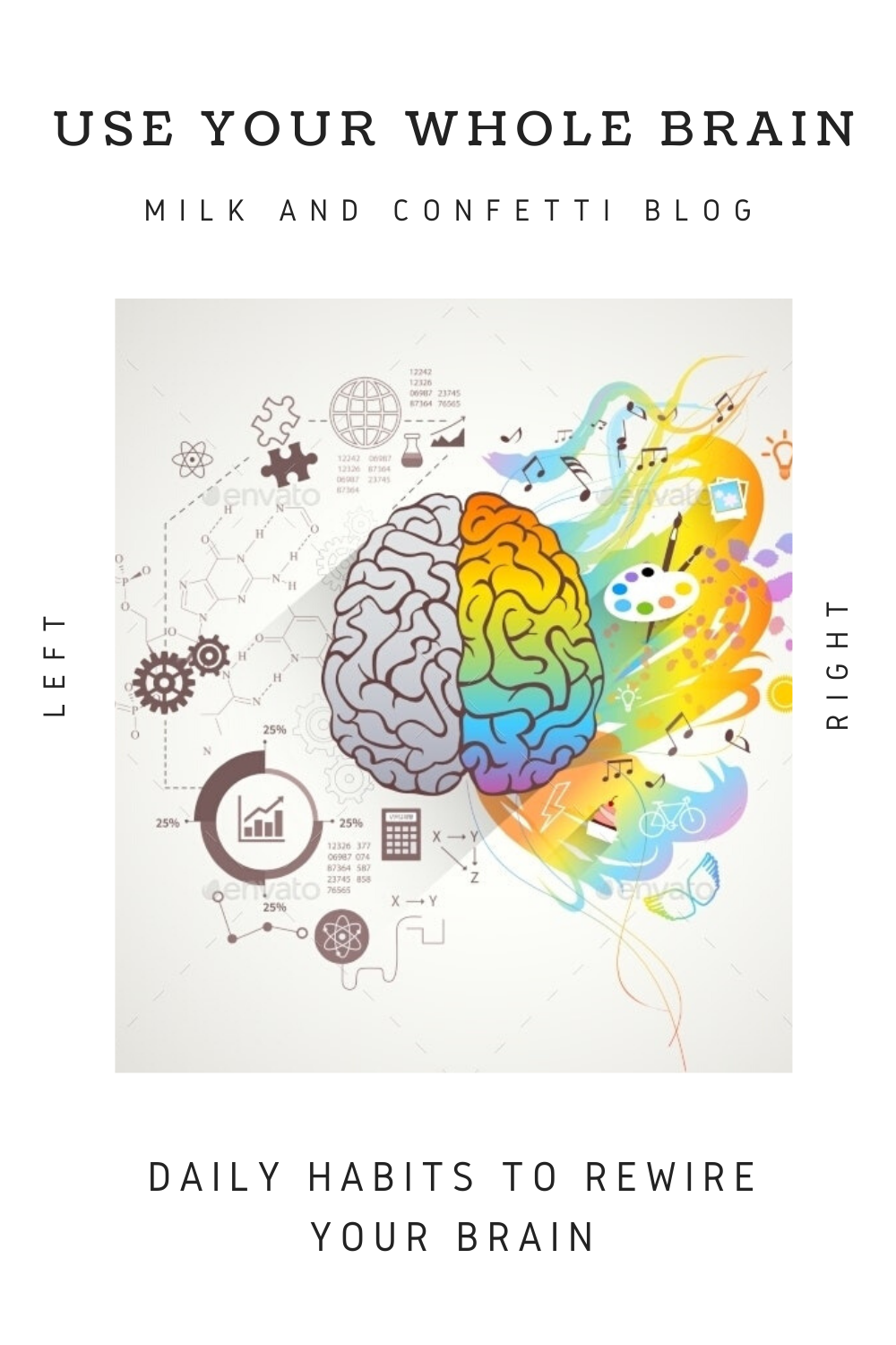 The two sides of your brain may look alike, but there's a big difference in how they process information. Here's what left brain vs. right brain means for you.