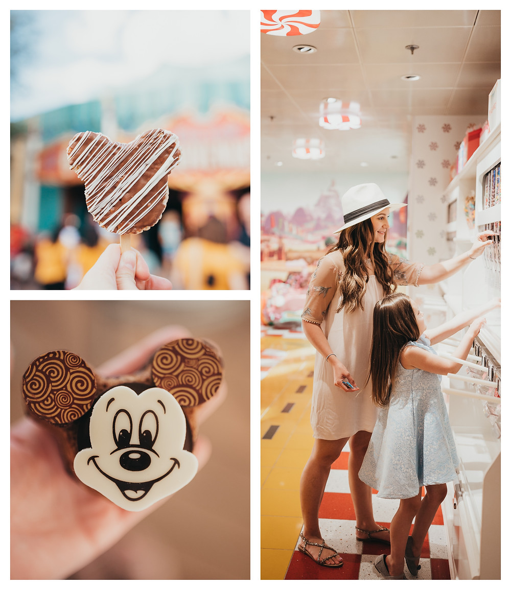 Disney sweet treats.