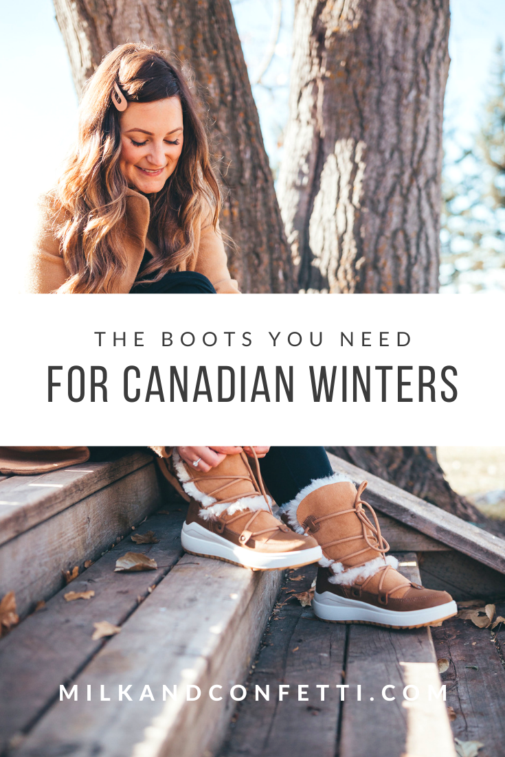 The perfect winter boots for Canadian winters.