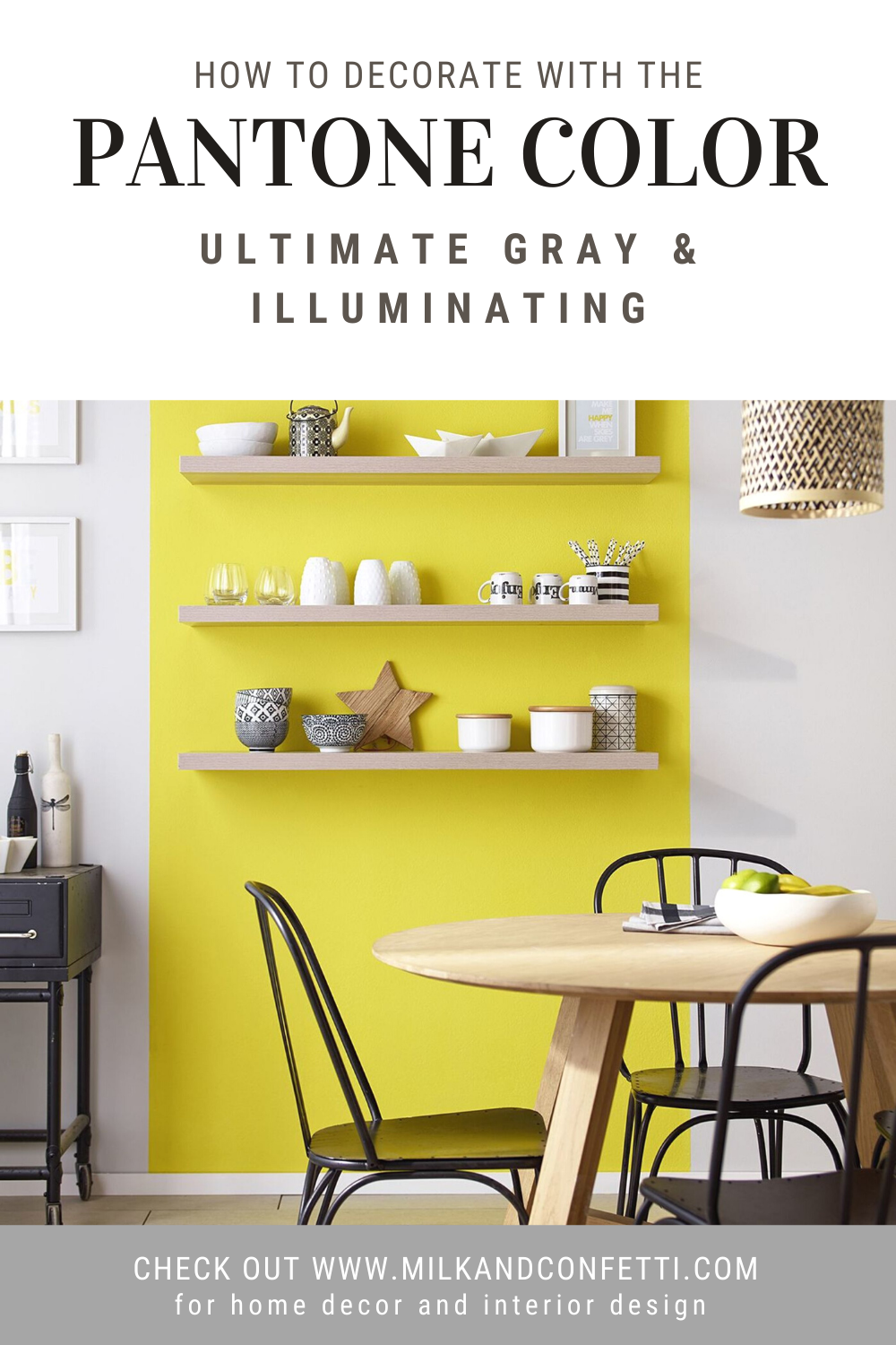Pantone color(s) of the year 2021 has been revealed: PANTONE 17-5104 Ultimate Gray and PANTONE 13-0647 Illuminating.