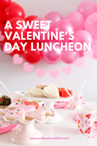 A valentines day party for kids