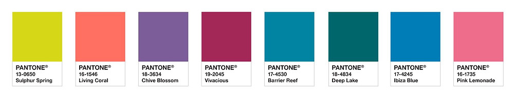 Pantone Color Palette
