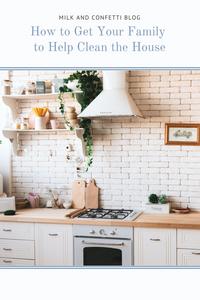 A beautiful white farmhouse kitchen.