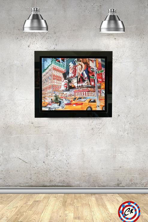 'MOVE ON UP' artist proof print 1/10